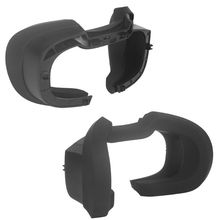 Yumuşak Anti sweat silikon göz maskesi kılıf kapak cilt için okülüs yarık S VR gözlük