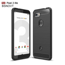 For Google Pixel 3 Lite Case Soft Silicone Bumper Anti-knock Cover BSNOVT