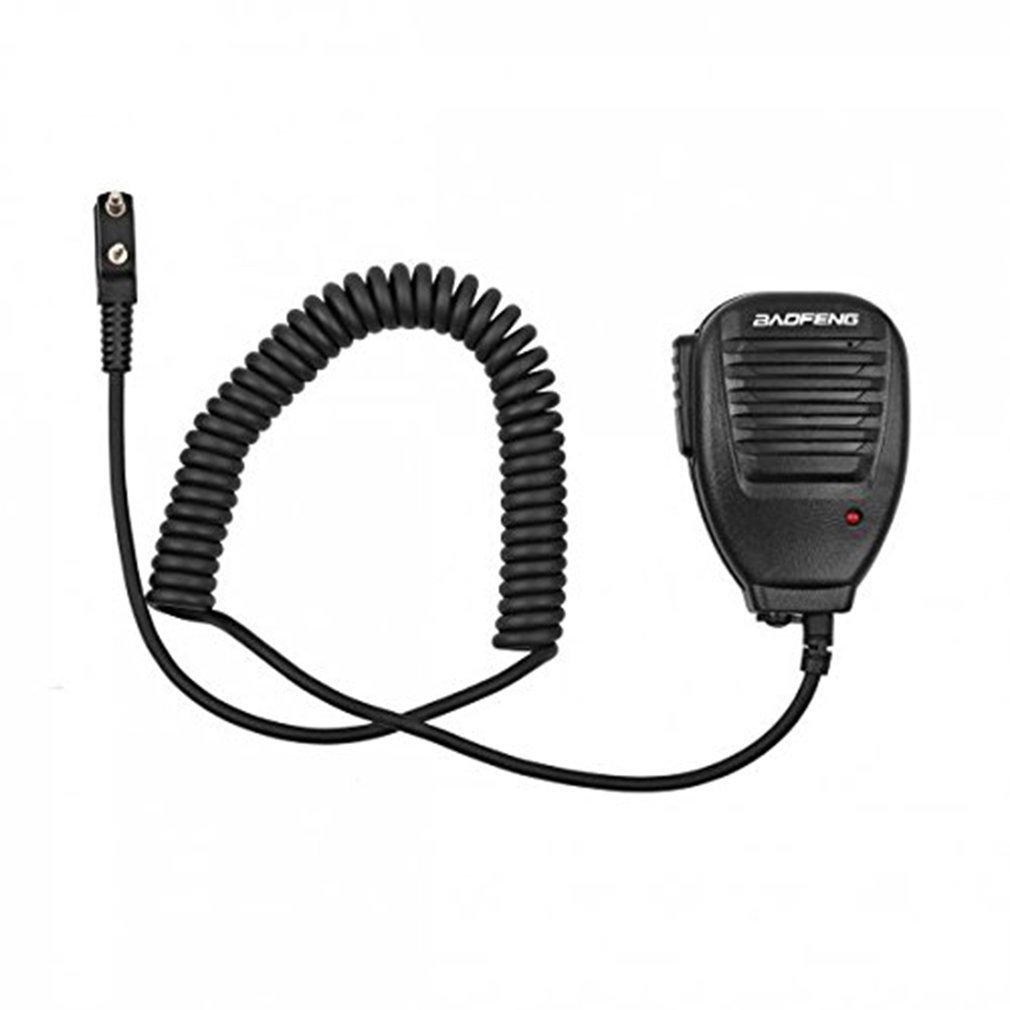 Portable Universal Baofeng 2-Way Radio Speaker With Mic Radio Walkie Talkie For Kenwood Hotel Restaurant Security Tool