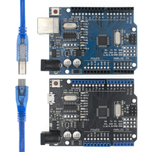 20 шт UNO R3 MEGA328P/CH340G чип 16 МГц для arduino макетная плата управления
