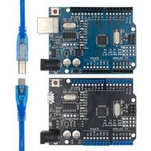 20 قطعة UNO R3 MEGA328P/CH340G رقاقة 16 ميجا هرتز ل اردوينو مجلس التنمية لوحة تحكم