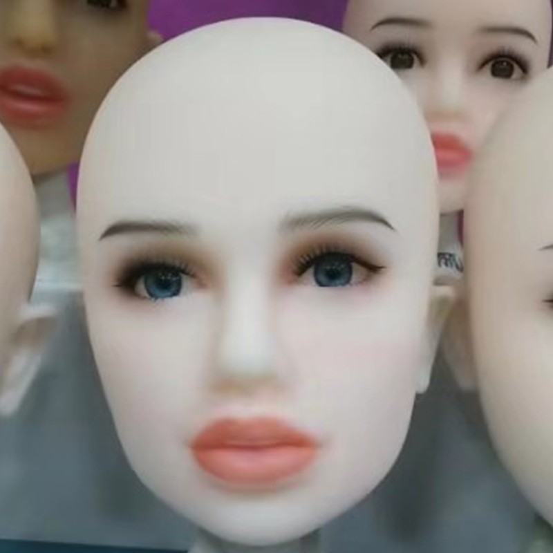 <font><b>TPE</b></font> Head for Silicone <font><b>Sex</b></font> <font><b>Doll</b></font> <font><b>140cm</b></font> to 168cm Oral Love <font><b>Doll</b></font> Head For Adult men image