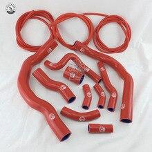 Силиконовый обогреватель радиатора шланг Fit+ вакуумный шланг комплект для BMW MINI COOPER S R52 R53 01-06(13 шт.) красный/синий/черный