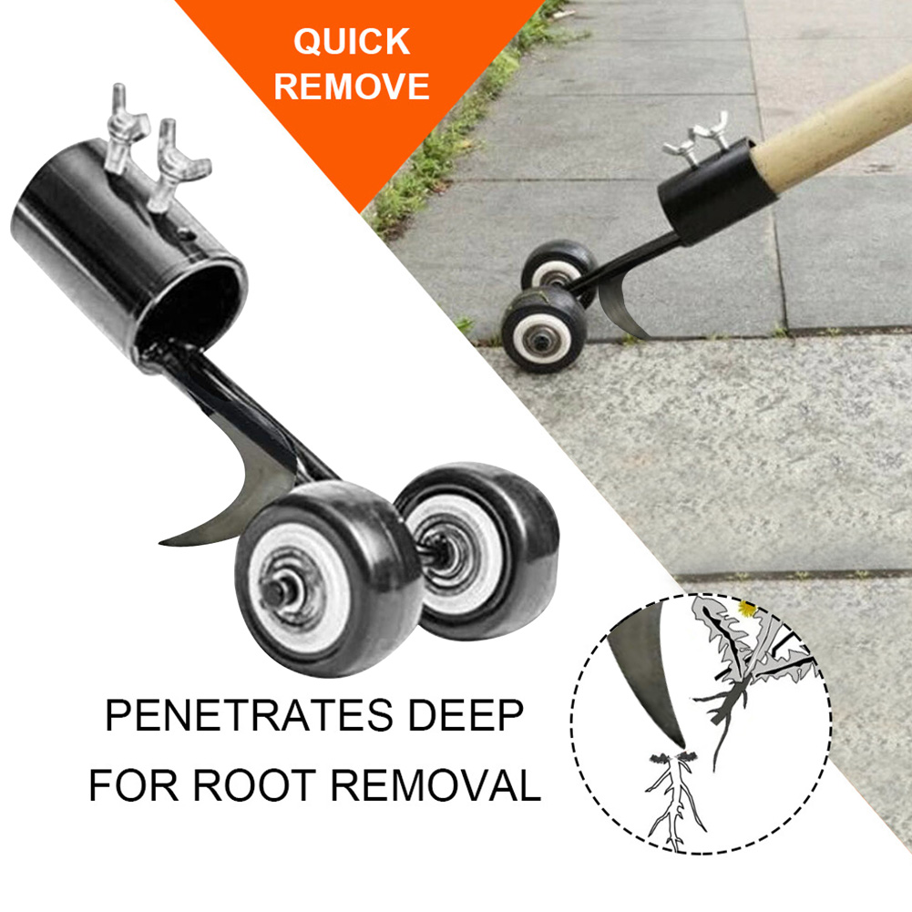 Grass Trimming Mini Weeder Weeds Garden Tools Manual Agriculture Root Remover No Bend Backyard Outdoor Cutter Edger 4