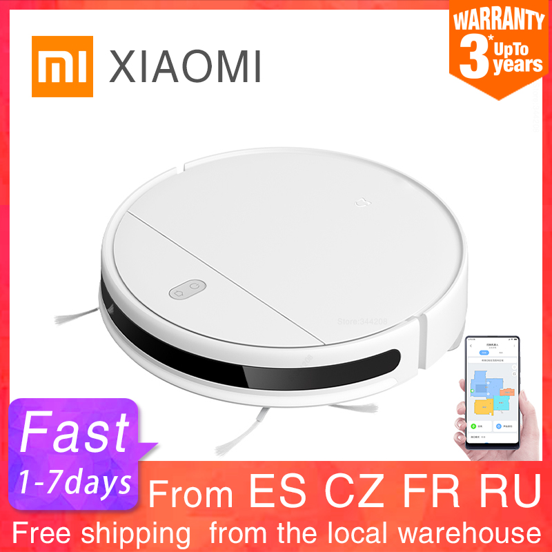 XIAOMI MIJIA Mi Robot Vacuum-Mop Essential G1 Sweeping Mopping Cleaner for home cordless Washing cyclone Suction Smart Planned(China)