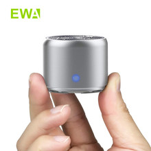 EWA A106Pro Bluetooth Speaker LED Flash Wireless Loudspeaker FM Radio Alarm Clock TF Card Support Select Songs By Number(China)
