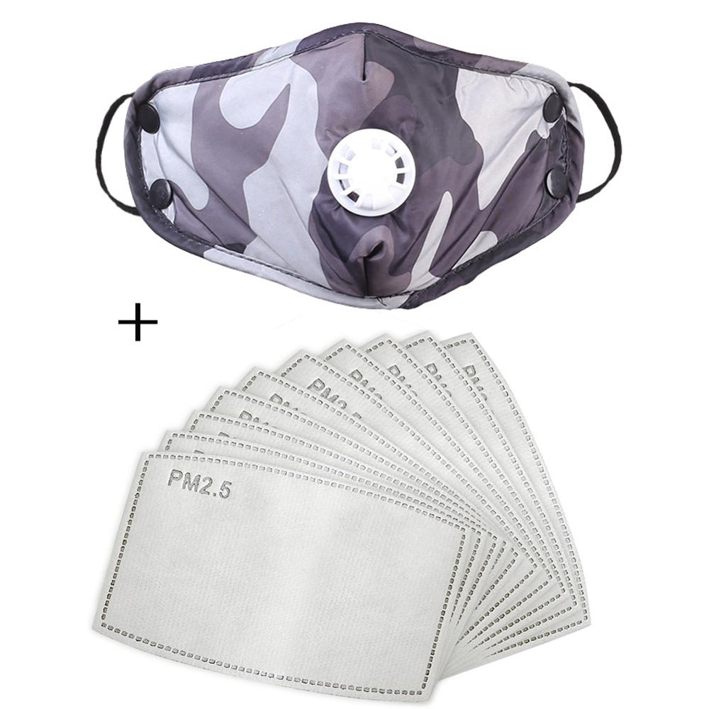 Dust Mask Anti-fog PM2.5 Protective Mask Safety Face Masks With Filter
