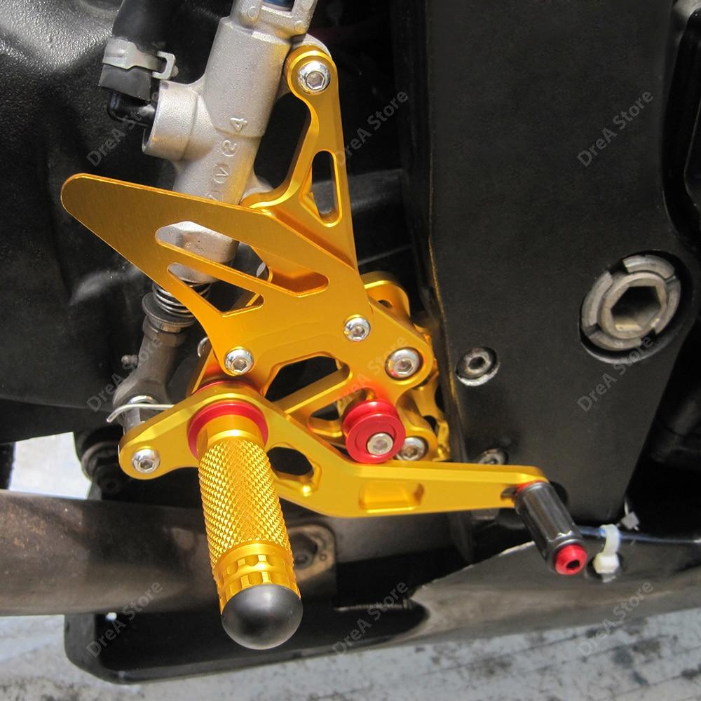 Gsxr600 мотоциклетные регулируемые педали ремонт подножки повышенной
