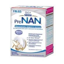 Смесь для обогащения грудного молока Pre NAN FM 85, c рождения, 70 пак x1 г