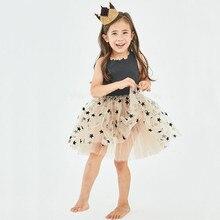 цена Girls Princess Kids Dresses for Girls Tutu Lace Embroidered Ball Gown Baby Girls Clothes Children Wedding Party Dress платье 34 онлайн в 2017 году