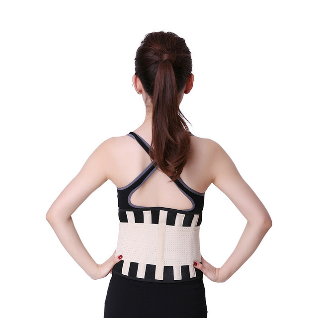 Waist Trainer Belt Support for Women & Man Waist Cincher Trimmer Weight Loss Ab Belt Slimming Body Shaper Sweat Belt 3
