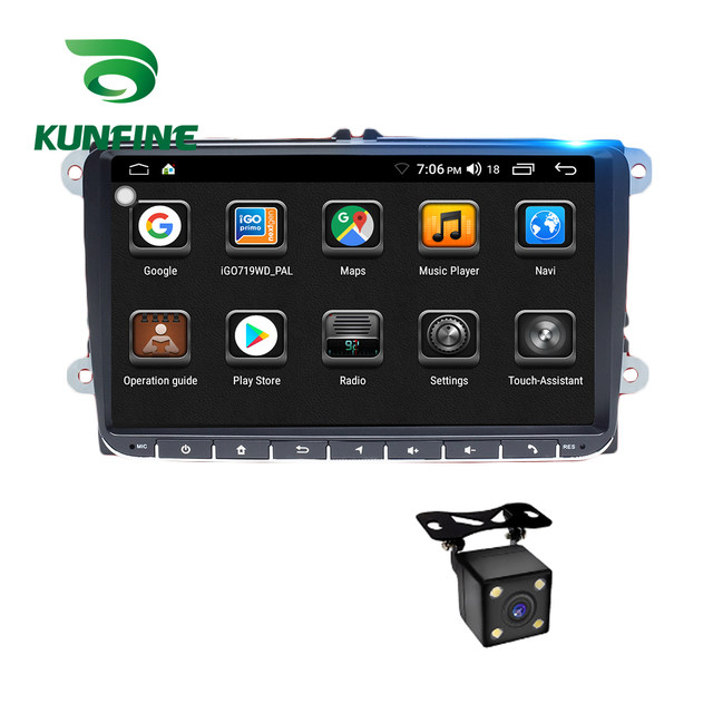 Android Car DVD GPS Navigation Multimedia Player Car Stereo For VW Universal touch screen Radio Headunit (4)