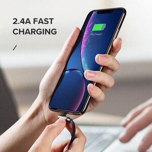 Image 5 - Câble USB Ugreen pour iPhone 12 Mini Pro Max 2.4A câble de données de Charge rapide pour iPhone X 11 8 câble de chargeur de téléphone portable
