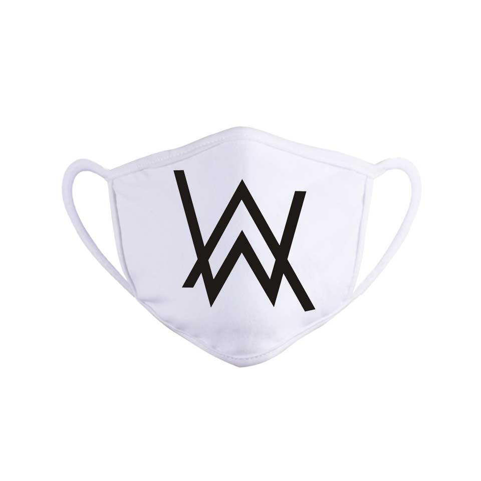 Reusable Cloth Face Mask Fashion Alan Walker Black Masque Adult Face Shield Dustproof Washable Men Women Kpop Protection Masks
