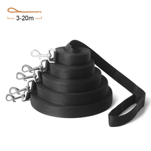 2.5cm Width Nylon Pet Dog Leash Long For Small Medium Dogs Cats Puppy Walking Running Leashes Supplies 3M 6M 10M 15M 20M