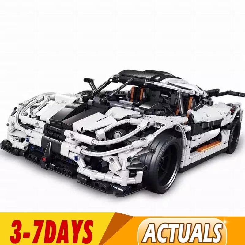 DHL  23002 93001  MOC-4789 Koenigsegg One:1 Model Building Blocks Bricks Educational Toys Children Christams Gifts