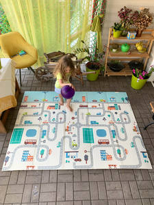 Miamumi Folding XPE Floor Mat for Kids Baby Crawling Mat Children's Play Mat Baby Mat