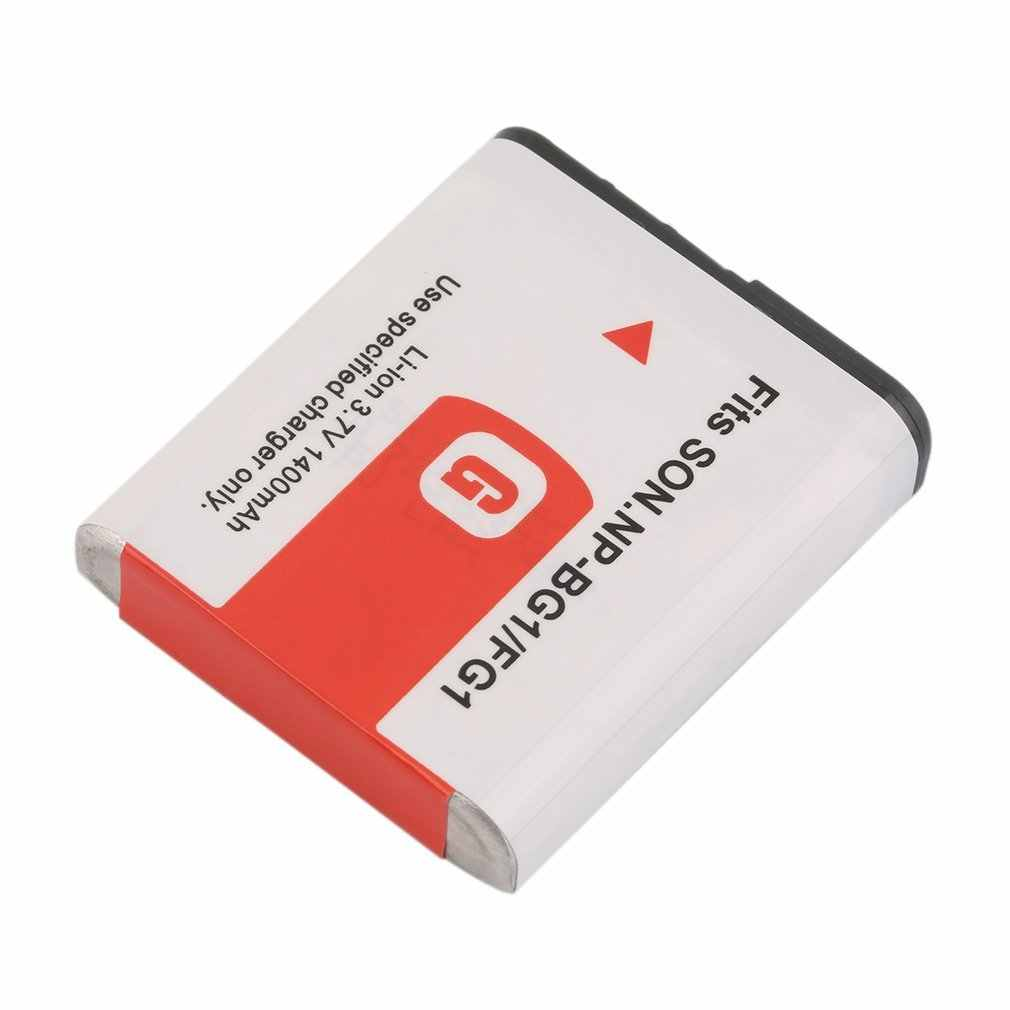 Nuevo 3,7 V 1400MAH reemplazo del Li-Ion de la batería con el caso para el Sony NP-BG1/FG1 Cámara No memoria efecto