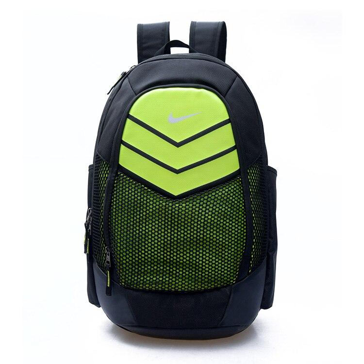 Nike homme Fanshion grande capacité sac d'entraînement respirant sport sac à dos mode Camping sacs femmes - 2