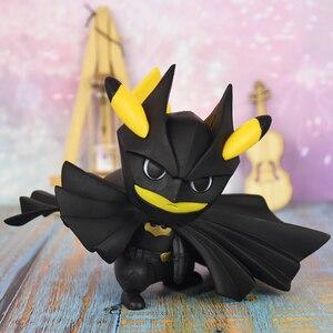 Покемон фигурка Пикачу Косплей Бэтмен кукла игрушка для детей рождественские подарки