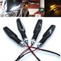 Universale Del Motociclo LED Flessibile Spia Indicatore di Direzione Della Luce di Colore Ambra Per MV Agusta F3 800/AGO 2004-2008 2005 2006 2007