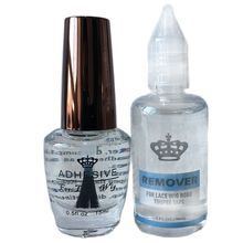 Wig-Glue Remover Adhesive Lace with 1-Bottle 1-Oz 30-Ml for 15-Ml