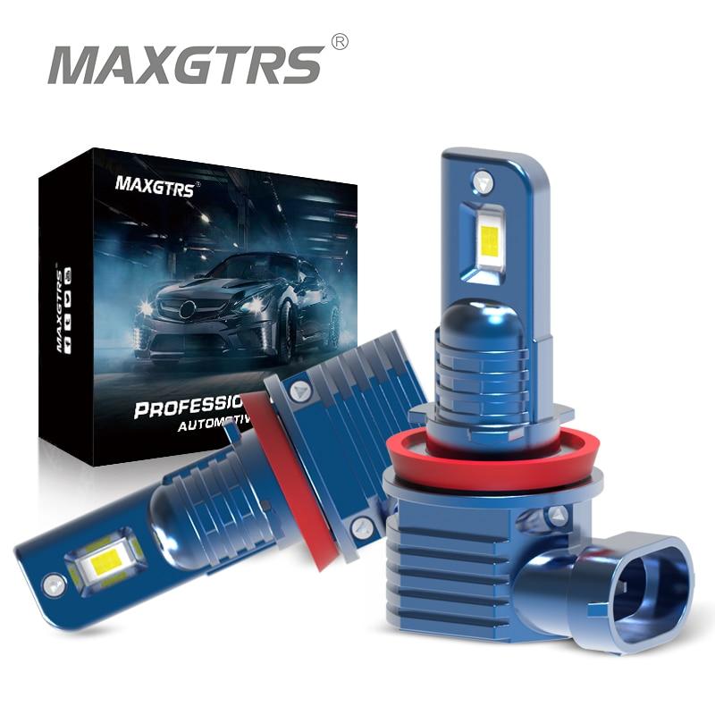 2x H1 H3 H4 H7 H8 H11 9005 HB3 9006 HB4 CSP Chip Led Bulb 80W Car Fog Driving Lights HeadLight 6000K White 3000K Gold 12V 24V