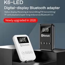 Bluetooth Empfänger 5,0 Wireless Auido Musik 3,5 Mm Jack Hause Musik Sound 3,5mm Adapter BT Sender Für Auto TV kopfhörer