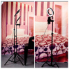 LED Selfie Ring Light Video Light Dimmable USB Ring Lamp Photography Light with Phone Holder 2M Tripod Stand for Makeup Youtube discount