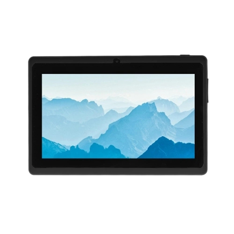 Q8 7Inch Mali-400 MP2 3G Wifi Business Computer Quad-Core 1.3GHZ Tablet PC For Android 4.4 OS(Black US Plug)