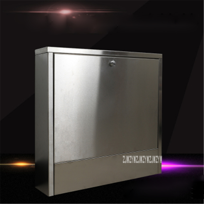 High-quality 304 Stainless Steel Housing Box Detachable Decorative Cabinet For 4-way To 7-way Water Separator + Total Valve