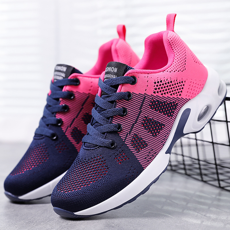 Spring 2021 new women's shoes fashion running shoes soft soled leisure sports shoes women's shoes 4
