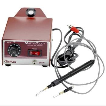 Jewelry wax welding machine small hand-held adjustable temperature electric soldering iron carving wax mold welding tool