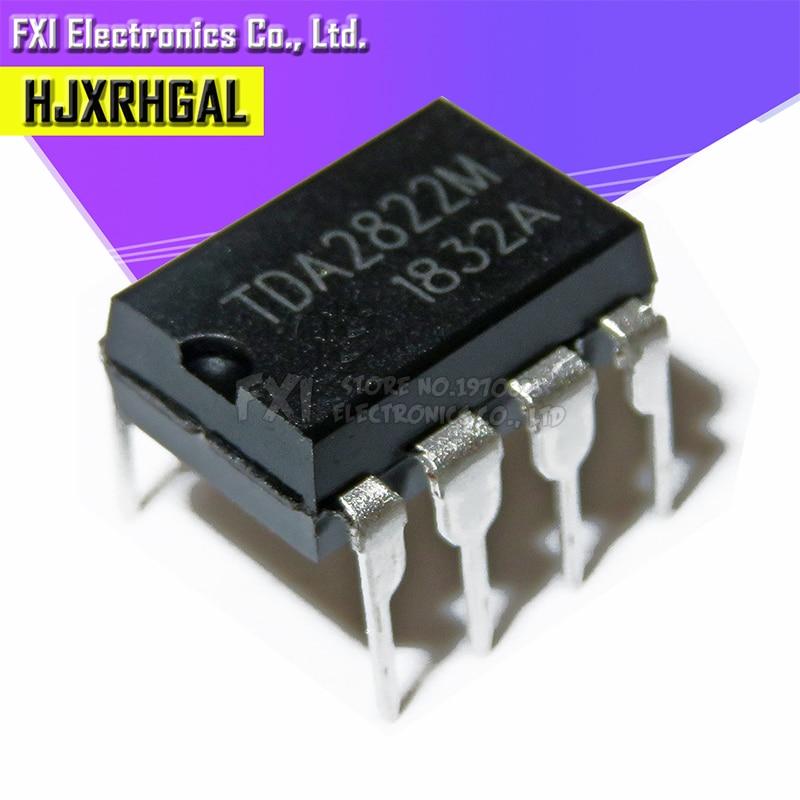 2 PCS TDA2822M TDA2822 DIP8