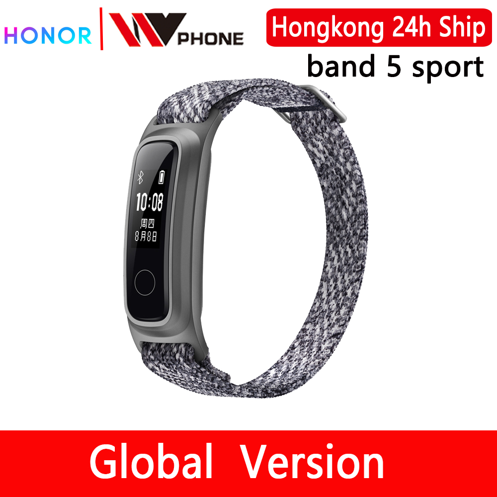 Huawei honor Band 5 sport edition Smart Band Dual Wrist&Footwear Mode Data Monitor Waterproof Smart Sports Bracelet