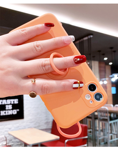 Image 4 - Luxury Liquid Silicone Case For iPhone 11 Pro Max 12 Protector Case For iPhone XS MAX XR X 7 8 6S PLUS SE2 2020 Cover With Strap