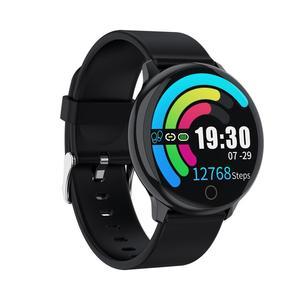 Image 3 - BELOONG Q16 w pełni z okrągłych sterowanie dotykowe ciśnienia krwi tętno fizjologiczne opaska monitorująca inteligentny zegarek fitness smart watch Q9 Q8