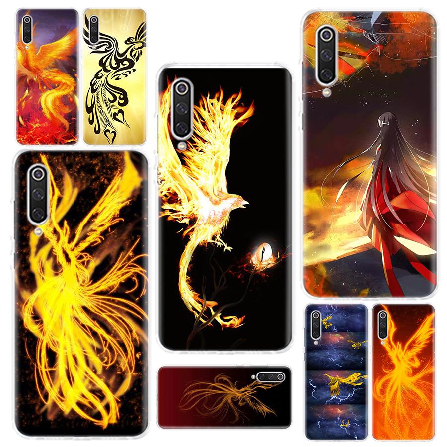 Erilles Myth Phenix Phone Shell For Xiaomi Redmi Note 87 7S 7A 6 S2 GO K20 Pro + 6A Mi 6X 5X A1 CC 9 8 Soft Phone Cover Case