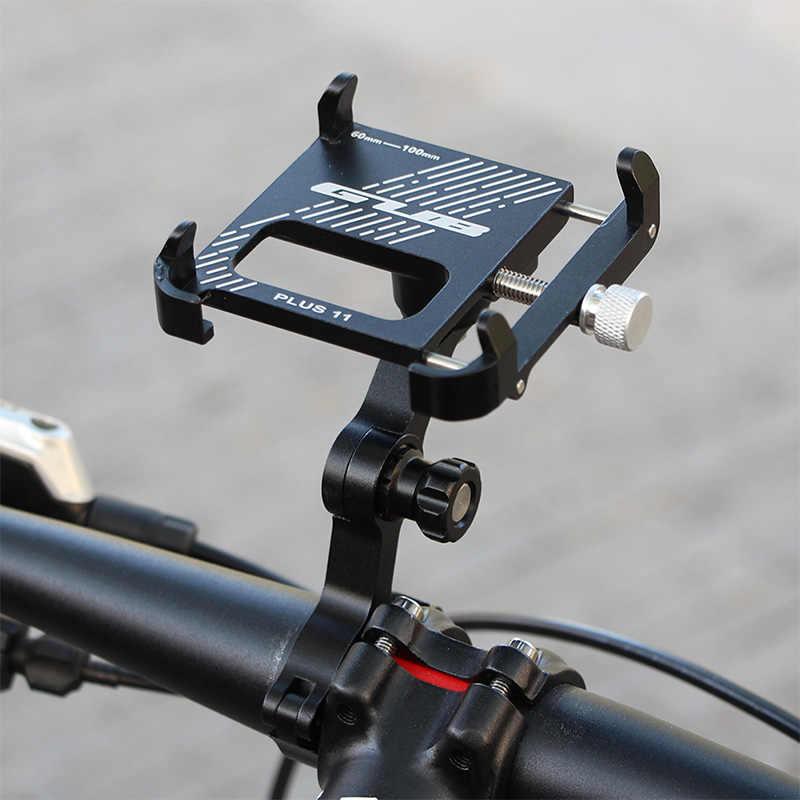 GUB PLUS 11 вращающийся велосипедный держатель для телефона 3,5-6,8 дюймов для смартфона, регулируемый для MTB шоссейного велосипеда, мотоцикла, электрического велосипеда