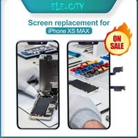 OLED Screen For iPhone Xs Max LCD Touch Screen OLED Display Digitizer Assembly Replacement No Dead Pixel With Gift Test Well