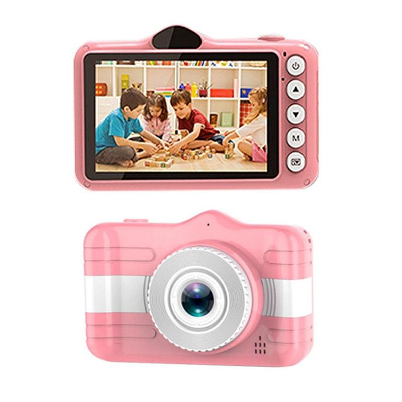 3.5 Inch Digital Camera Mini Camera Kids Educational Toys for Children Baby Gifts Birthday Gift 1080P Projection Video Camera