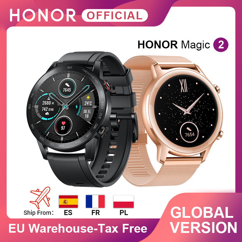Global Version Honor Magic Watch 2 Smart Watch Bluetooth5.1 Smartwatch Waterproof 14 Days Sports Watch Heart Rat For Android IOS