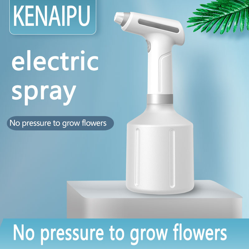 Electric Garden Sprayer Sprinklers and Accessories Spray Bottle Cleaning Stream and Fine Mist 900ML Battery Powered-1
