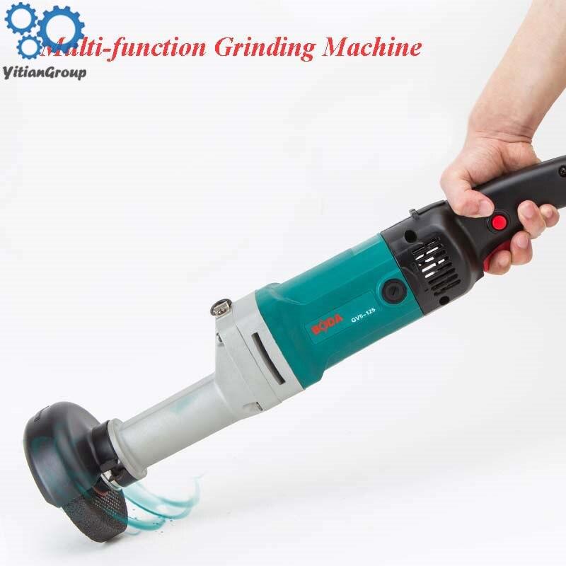 125mm Handheld Straight Grinder 950W Industrial Metal Polishing Grinding Machine GV5-125