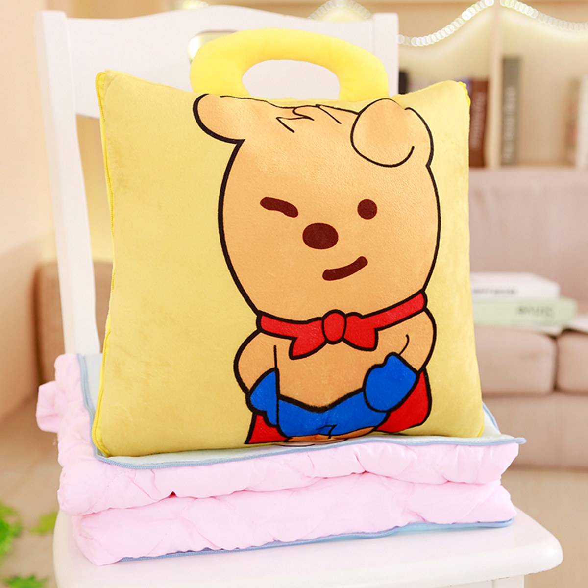 DUMBO IMPERMEABILE Stuffed Plush Doll Portachiavi Ornamento Ciondolo Portachiavi Bag