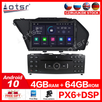 For BENZ GLK X204 GLK300 GLK3 MERCEDES50 Android10.0 free car DVD player GPS multimedia Auto navigator stereo receiver Head unit image
