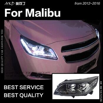 AKD Car Styling Head Lamp for Chevrolet Malibu LED Headlight 2012-2016 Audi-Design LED DRL Hid Bi Xenon Auto Accessories