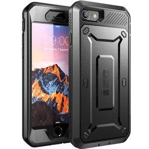 Image 1 - Funda para iphone 7 8 SE 2020, carcasa protectora de pantalla integrada UB Pro