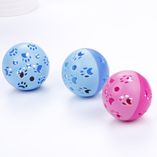 1 шт. игрушки для кошек, полые колокольчики, забавные пластиковые интерактивные мячи для щенков, игровые товары для домашних животных, любимые аксессуары