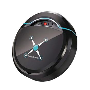 Odkurzacz Robot automatyczny inteligentny odkurzacz do czyszczenia podłóg w domu i mop USB ładowanie kurzu odkurzacz do włosów dla domu tanie i dobre opinie Cadimone CN (pochodzenie) 500-999 w 220 v Typu mopem i zamiatanie i ssania 0 5 L 1 godziny i 30 godzin minutes-2 Bezworkowy
